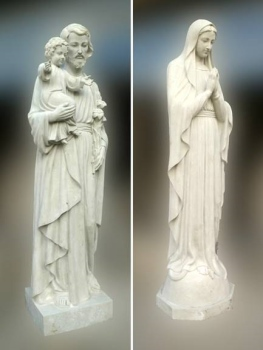saints statues - ready to finish or paint