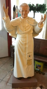 Statue of Pope John Paul