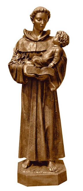 Custom Bronze St Anthony statue