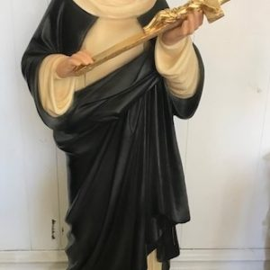 St Catherine of Siena statue