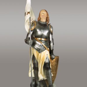 Custom St Joan of Arc statue