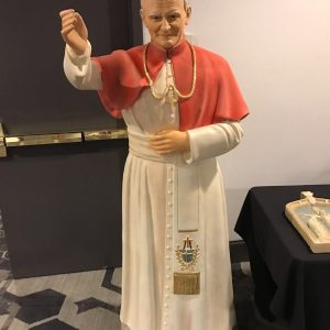 New Pope John Paul statue