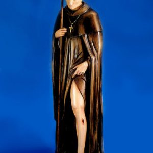 custom St Peregrine statue