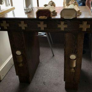 Modern wood Altar