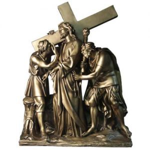 Huge 3 dimensional Set of Stations of the Cross